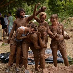 The Mud Girls!