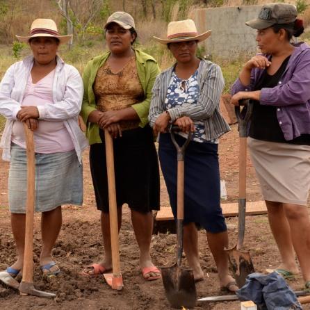the women of Sabana Grande
