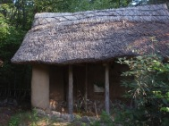 thatching strawbale studio