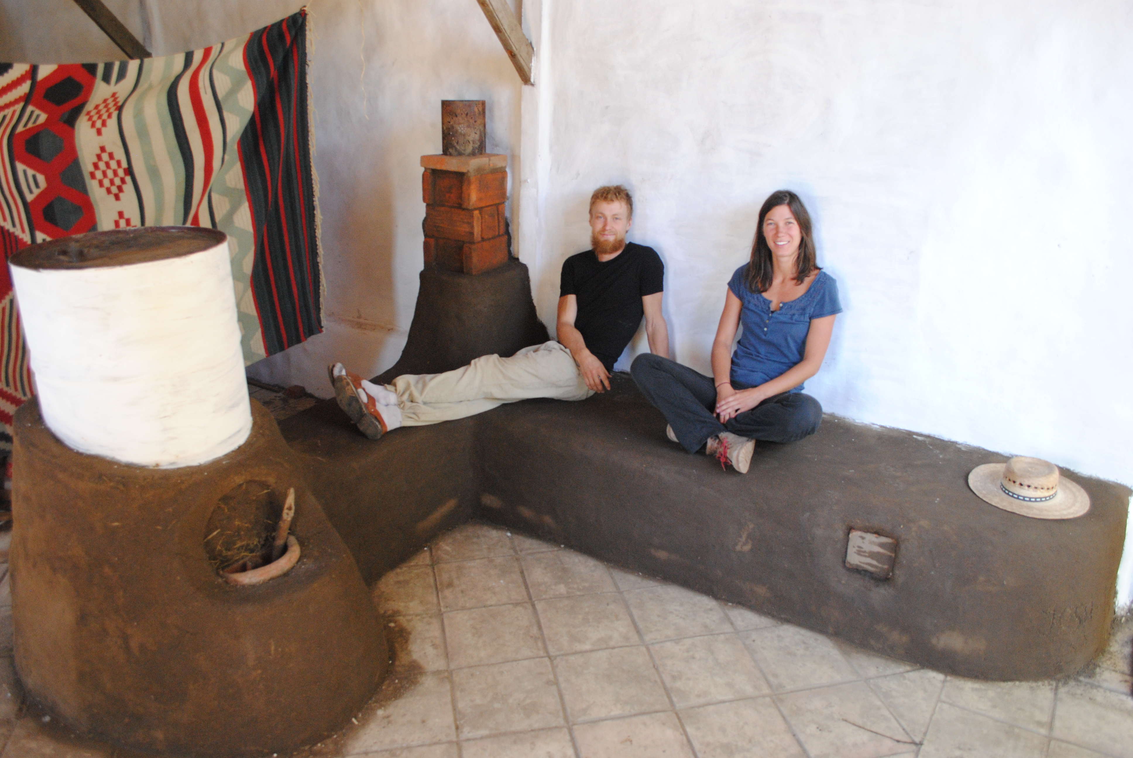 Rocket Stoves Building Connections