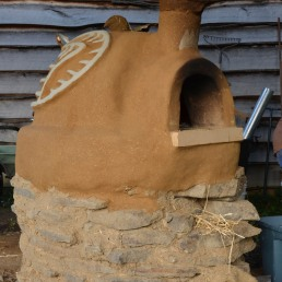 Turkey Cob Oven in Kentucky, USA, 2013