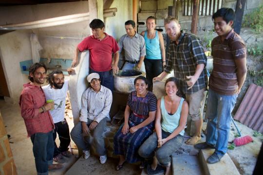 Institutional Rocket Stove, Guatemala 2014